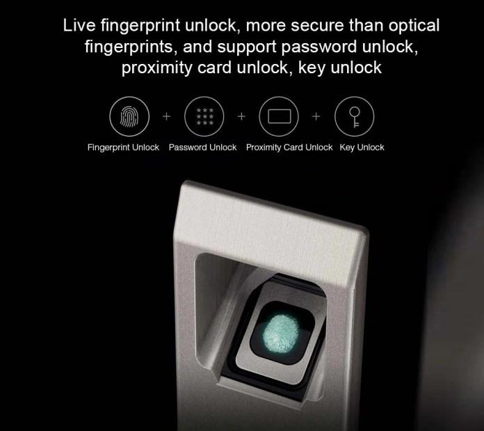 Xiaomi Aqara s1 Smart door lock options