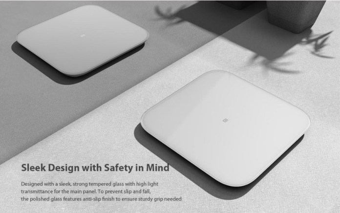 Xiaomi Mi Scale 2.0 Internation edition design