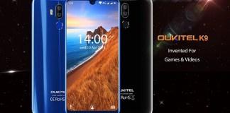 Oukitel k9 7.12inch phone