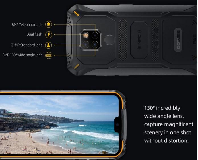 Doogee S68 Pro camera