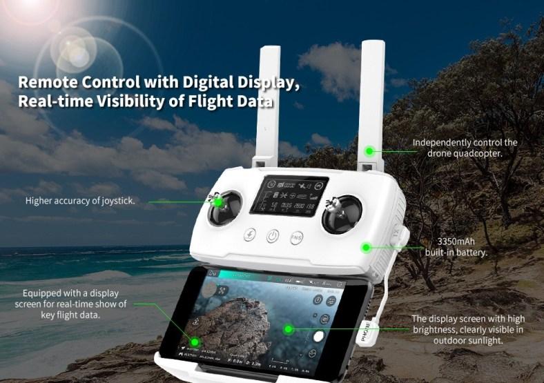 Hubsan Zino 2 Drone remote