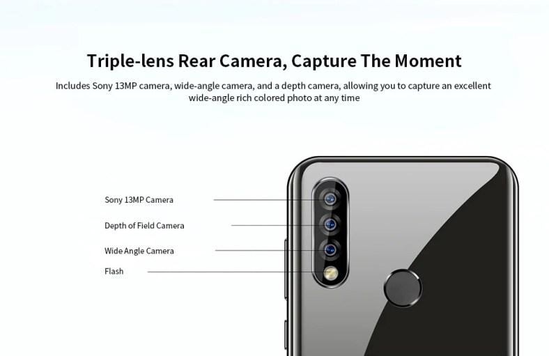OUKITEL C17 Pro Camera
