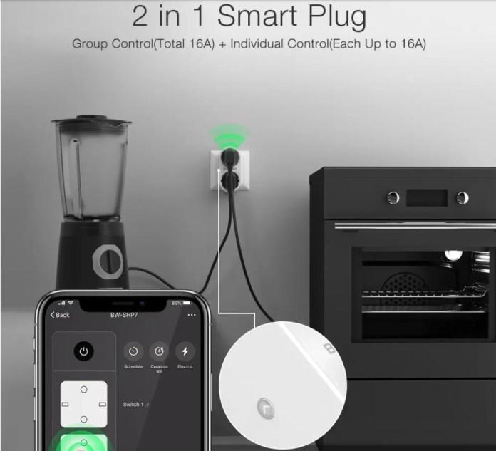 Blitzwolf BW-SHP7 Smart plug individual control