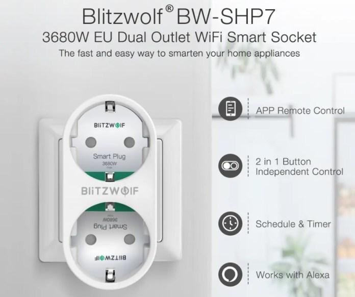 Blitzwolf BW-SHP7 Smart plug