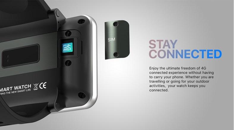 Ticwris Max smartwatch 4G