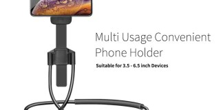 Multi Usage Concise Phone Holder Bedside