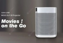 XGIMI XJ03W MOGO DLP 3D Projector