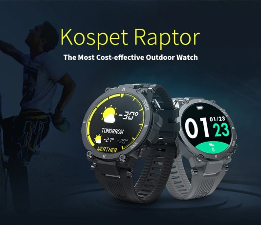 Kospet Raptor ip68 smartwatch