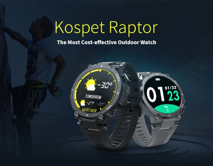 Kospet Raptor ip68 smartwatch