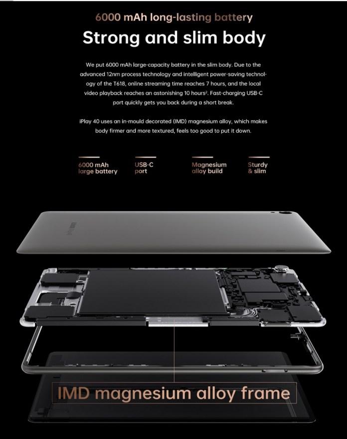 Alldocube iPlay 40 8-128GB 4