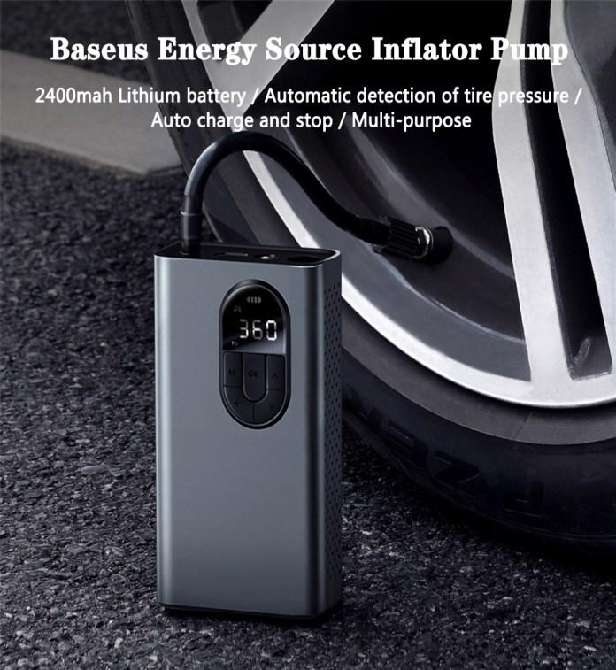 Baseus 150PSI Portable Inflator Pump Air Compressor