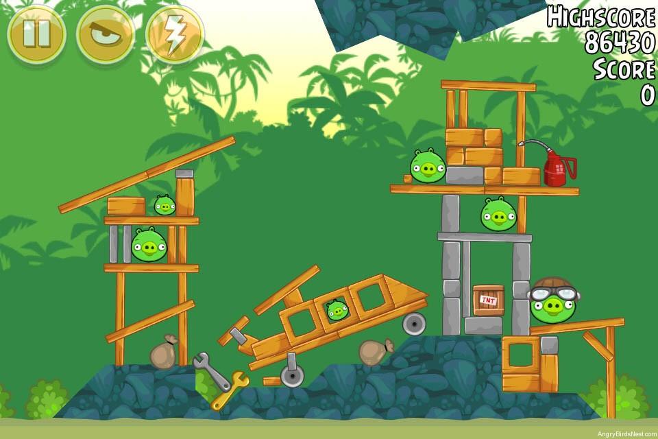 Angry Birds Bad Piggies Level 21 2 Walkthrough