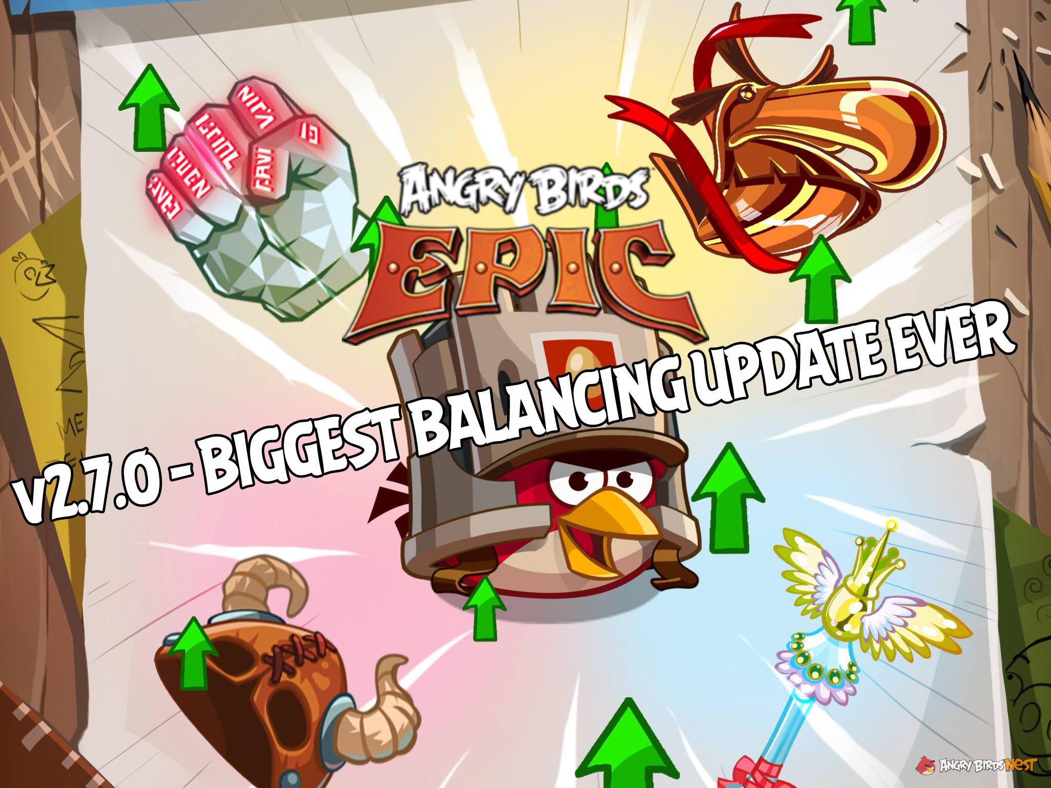 Angry Birds Epic V2 7 0 Biggest Balancing Update Ever Angrybirdsnest