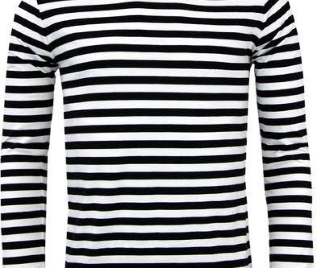 Retrorocket Mod Long Sleeve Shirt By Madcap England In Black White Stripes Sale