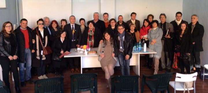 Foto Elezione Presidente Liana Baroni con Direttivo Angsa gennaio 2014 Roma