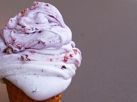 Blue, probably the best blueberry ice cream 1