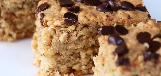 Oatmeal and Chocolate Chip Bars