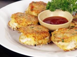 Rellenong Alimasag (Stuffed Crabs)