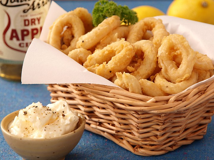 Calamares (Deep Fried Squid Rings)