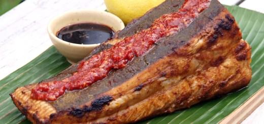 Grilled Ikan Pari