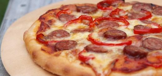Spicy Chorizo and Chilli Pizza
