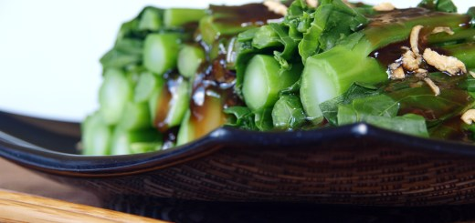 Kailan in Oyster Sauce