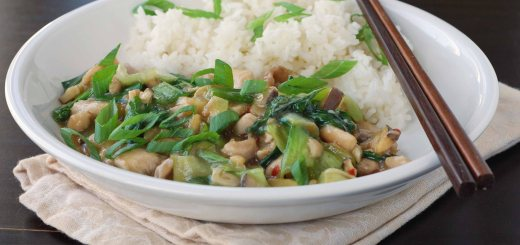 Guest Post : Yudith from Blissfully Delicious featuring Oyster Sauce Chicken with Bok-Choy 2