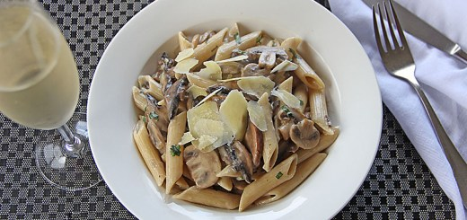 Mixed Mushroom Pasta 2