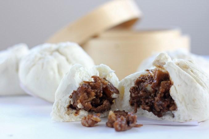 Siopao Asado (Sweet Pork Steamed Buns) - Ang Sarap