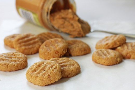 Flourless Peanut Butter Cookie