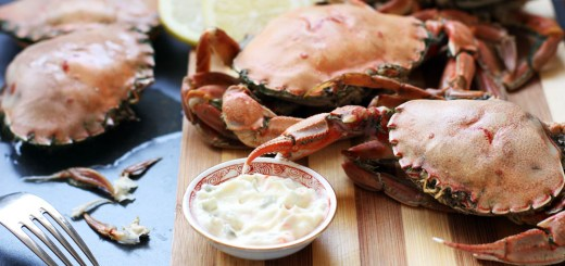 Boiled Crabs with Fennel 1