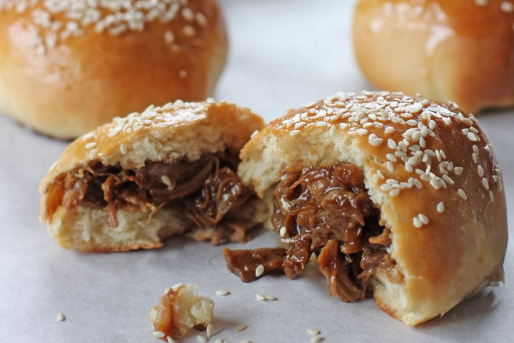 Baked Barbecue Pork Buns 1