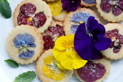 Guest Post : Barbara from Just a Smidgen featuring Cardamom Orange Zest Cookies with Pansy Topping 3