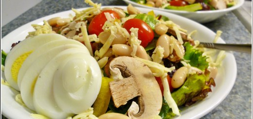 Guest Post : JJ from Food Jaunts featuring Hearty Tuscan Salad 2