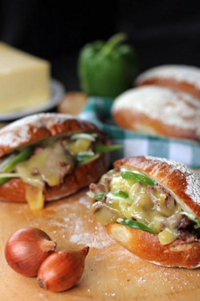 Philly Cheese Steak Sandwich 2
