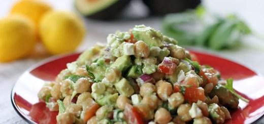 Chickpea, Feta and Avocado Salad 2