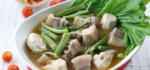 Sinigang (Pork Stew in TamarindBroth) 2