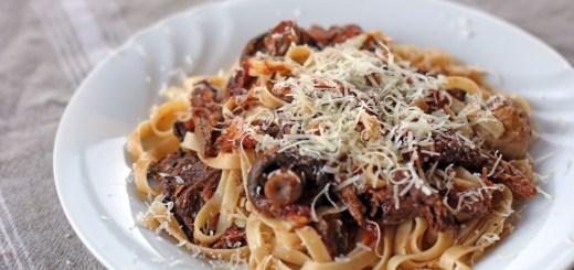 Beef and Mixed Mushrooms Ragout 1