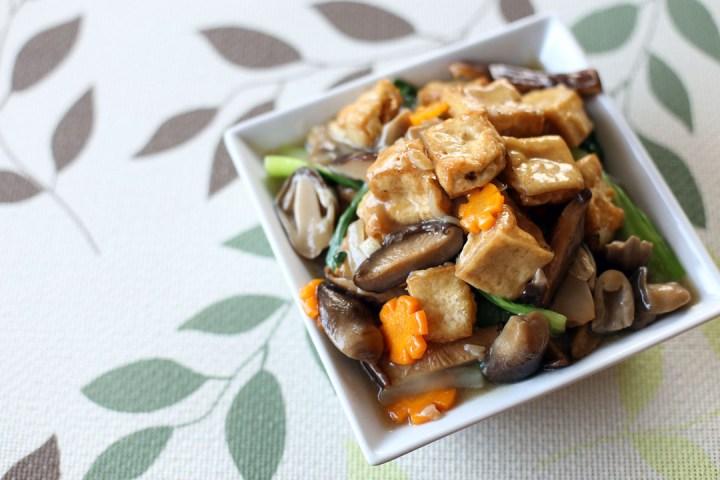 Braised Tofu Wide
