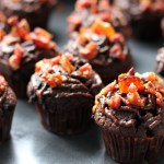 Bacon and Chocolate Cupcakes with Nutella Ganache 2