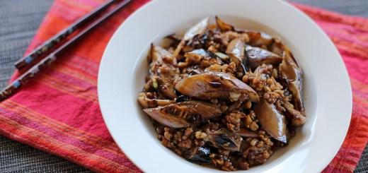 Spicy Szechuan Eggplant 1