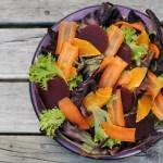 Orange, Carrots and Beet Salad 1