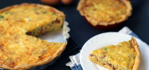 Bacon and Leek Quiche 1