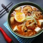 Spicy Tofu and Prawn Ramen 1