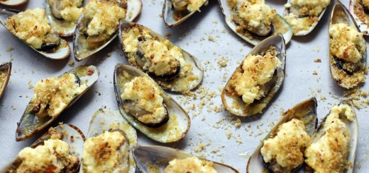 Baked Tahong (Baked Mussels) 1