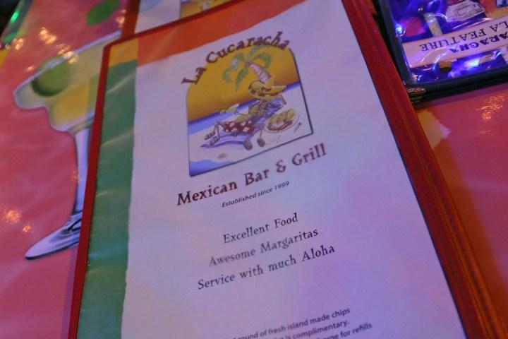 La Cucaracha Mexican Bar and Grill (Honolulu, Hawaii) 1