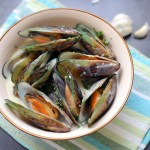 Garlic and Herb Mussels 1