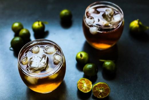 Honey Calamansi Iced Tea 1