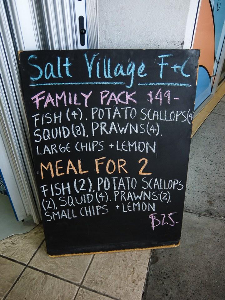 Salt Village Fish & Chips 1