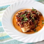 Pan Fried Fish Fillets with Sun-dried Tomato-Caper Sauce 1